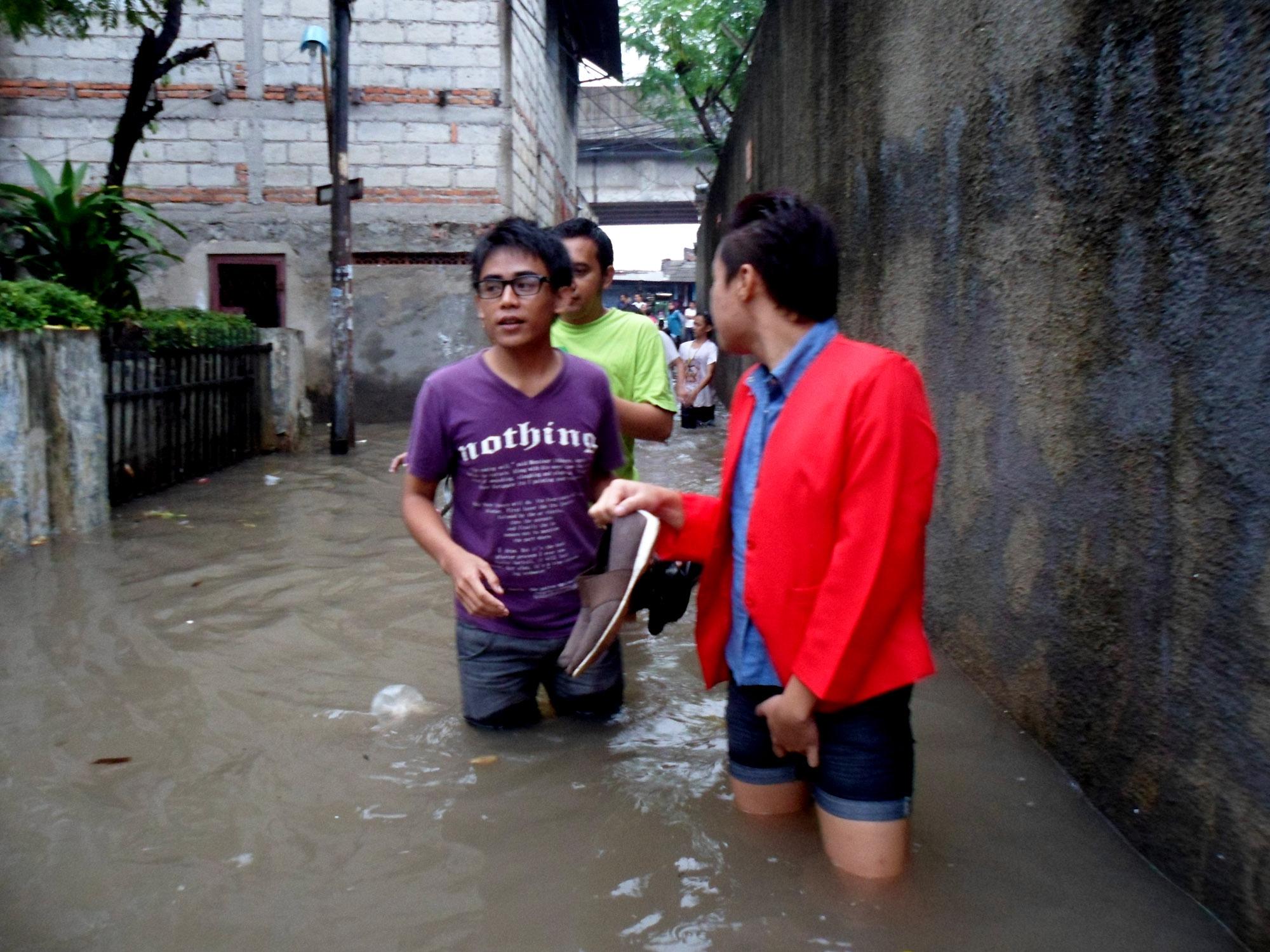 Aksi Peduli Ourvoice Korban Banjir