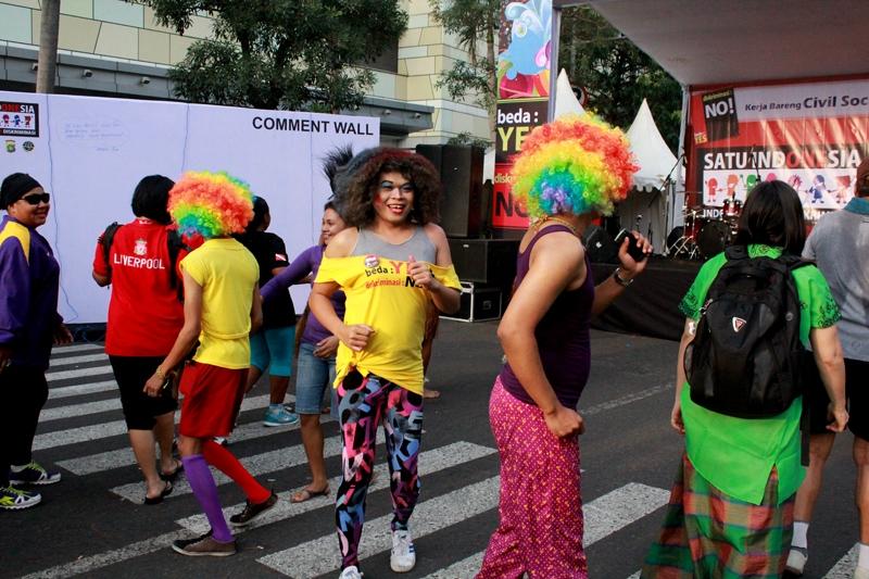Indonesia Tanpa Diskriminasi 28 Oktober, Bundaran HI, Jakarta