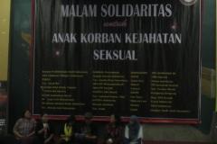 Malam Solidaritas Untuk Anak Korban Kekerasan Seksual