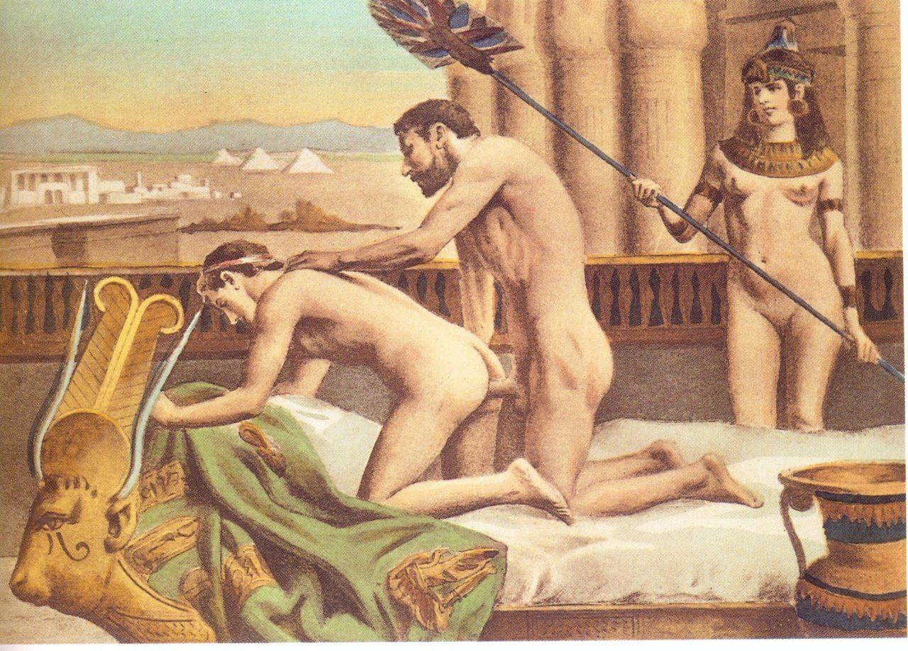 Древние секс рисунки