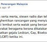 <!--:id-->Dr Rais Yatim : Semua Jenis Kelamin Punya  hak untuk mengambil bagian dalam program hiburan.<!--:--><!--:en-->No ban on LGBT characters: Malaysian Culture Minister; anti-gay rally planned for Apr 21<!--:-->