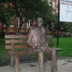 Patung Alan di Sackville Park, Manchester