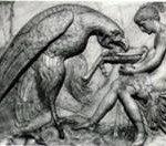 Zeus meminum air yang dibawa Ganymede