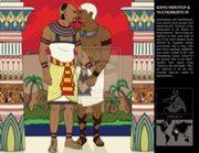 Lukisan modern Niankhkhnum dan Khnumhotep, karya Eshto - ditemukan di situs Deviant Art