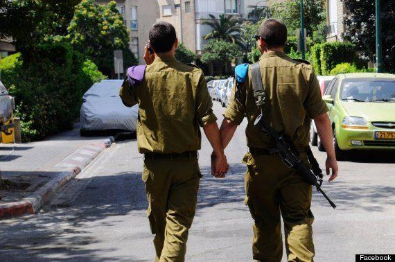 Fhoto tentara gayyang mendapatkan kontraversi (sumber :IDF)
