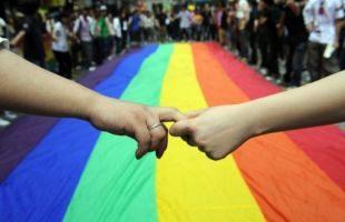 Ilustrasi homoseksualitas (sumber: AFP)