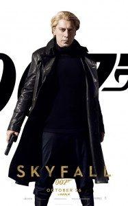 Javier Bardem sebagai Silva dlm film James Bond -skyfall