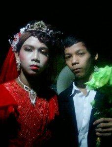 Pernikahan sesama jenis yang ada di Desa Mendahara Tengah Kecamatan Mendahara  Tanjabtim  Jambi