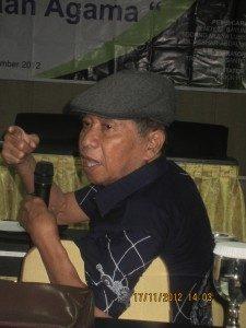 Prof. Dawam Rahardjo (Foto: Hartoyo)