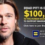 <!--:id-->Brad Pitt Siapkan Rp960 Juta Bantu Pernikahan Kaum Gay<!--:-->