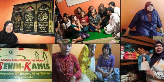 pesantren waria. ©2012 Merdeka.com/parwito