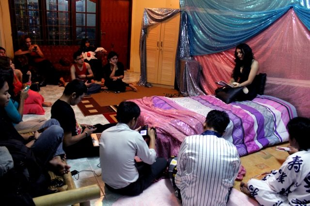 Bedah Buku Merlyn di Ourvoice (photo : @imam/dokumentasi ourvoice)