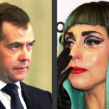Lady GaGa Ngetweet Perdana Menteri Rusia Karena Dukung Gay
