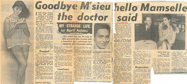 Flashback: Pemberitaan Ashley Apri, pada  1961 di surat kabar Sunday People
