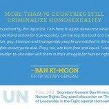 Sikap Tegas PBB Terhadap Hak-Hak LGBT