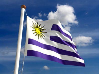 Ilustrasi Bendera Uruguay (internet)