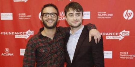 Daniel Radcliffe dan John Krodikas | Foto: thestar.com