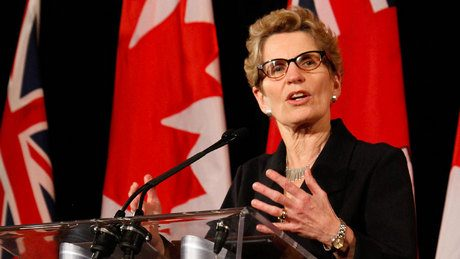 (Kathleen Wynne. photo : breakingnews.ca)