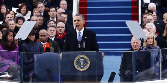Pelantikan Obama. REUTERS