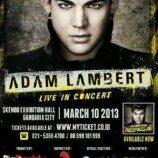 Adam Lambert Gelar Konser di Indonesia 10 Maret 2013