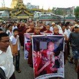 Fosfor digunakan membubarkan unjuk rasa di Burma