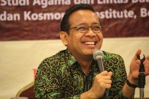Rektor UGM-Prof.Pratikno (Foto: Hartoyo/Ourvoice)