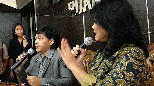 Ketua Komnas HAM, Siti Nurlaila (kiri) minta kerja Densus 88 diawasi.