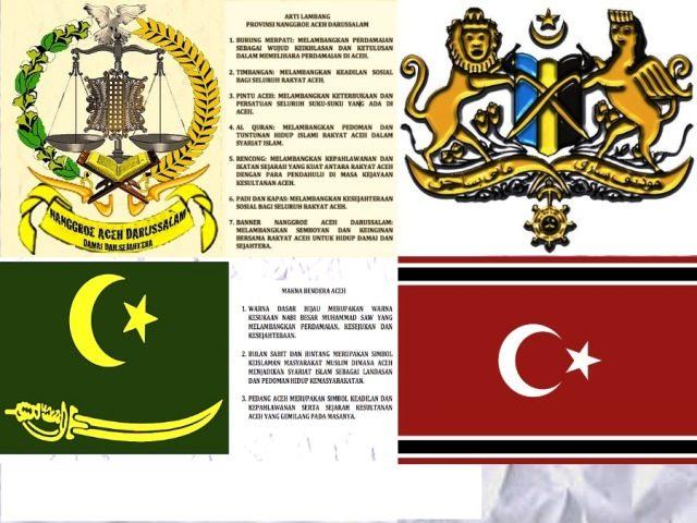 Beberapa lambang yang diusulkan untuk aceh (sumber : kompasiana.com)