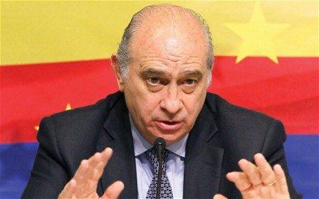 Menteri Dalam Negeri Spanyol, Jorge Fernandez,