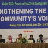 [Foto] Pertemuan LSM Sedunia Untuk Pembangunan Berkeadilan