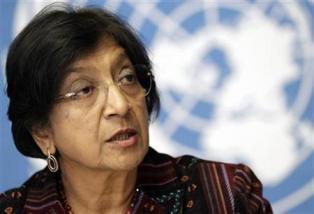 Navi Pillay, Komisaris Tinggi PBB untuk Hak Asasi Manusia. (Foto : Reuters)