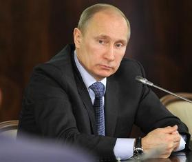 (Presiden Rusia Vladimir Putin. foto : Dailystar)