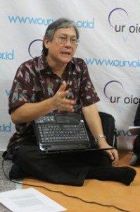 (Pendeta Stephen Suleeman, Foto : Teguh/Ourvoice)
