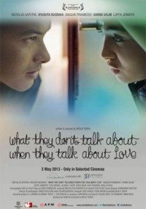 Poster Film : What They Don't Talk About When They Talk About Love