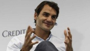 Roger Federer. REUTERS/Edgar Su