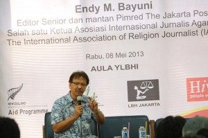 Endi M. Bayuni (Foto: Hartoyo/Ourvoice)