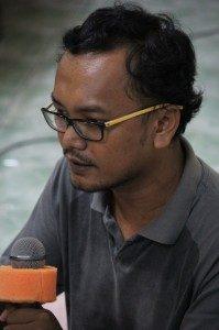 M.Guntur Romli (Foto: Hartoyo/Our Voice)