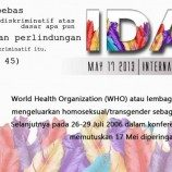 Siaran Pers Our Voice: Peringatan IDAHO 17 Mei 2013