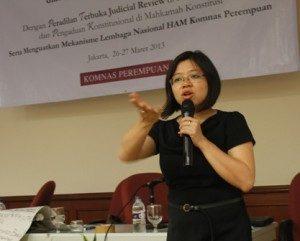 (Andi Yentriyani, Komisioner Komisi Nasional Anti Kekerasan Terhadap Perempuan Komnas Perempuan.Foto : Yatna/Ourvoice)