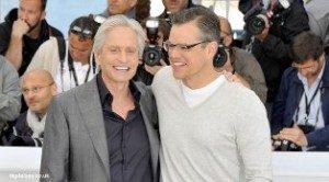 Matt Damon dan Michael Douglas