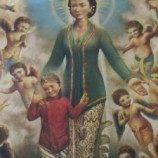 [FOTO] : Akulturasi Gereja Ganjuran, Yogyakarta