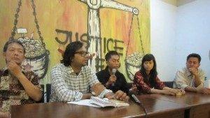 Bersama Kontras, keluarga korban Ruben Pata Sambo menuntut agar ayahnya mendapatkan keadilan hukum