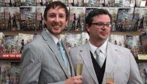 Pernikahan gay ala X-Men. Foto : REUTERS