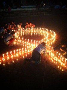 Malam Renungan Aids Nasional  (MRAN) 2013 (Yatnapelangi/Ourvoice)