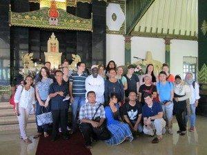 Peserta dan Pantia Di Gereja Hati Kudus Tuhan Yesus, Ganjuran, Yogyakarta (Foto: Gusti/Ourvoice)
