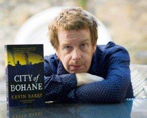 "Kevin Barry sang penulis buku ""City of Bohane"" Buku ini berlatar Irlandia pada 2053"