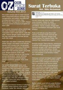 Zine edisi 3 2013