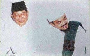 Foto keakraban Habib Rizieq dan Presiden SBY beredar di situs Facebook
