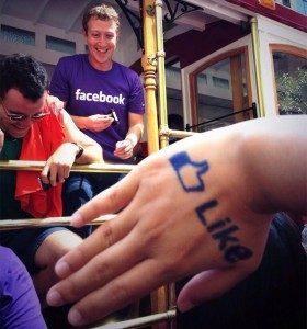 Dukung LGBT, Zuckerberg ikuti pawai kaum gay