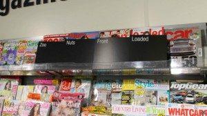 Sampul majalah-majalah dewasa sekarang tidak diperlihatkan secara utuh di toko-toko